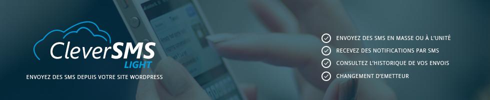 Envoi de SMS depuis son site internet WordPress