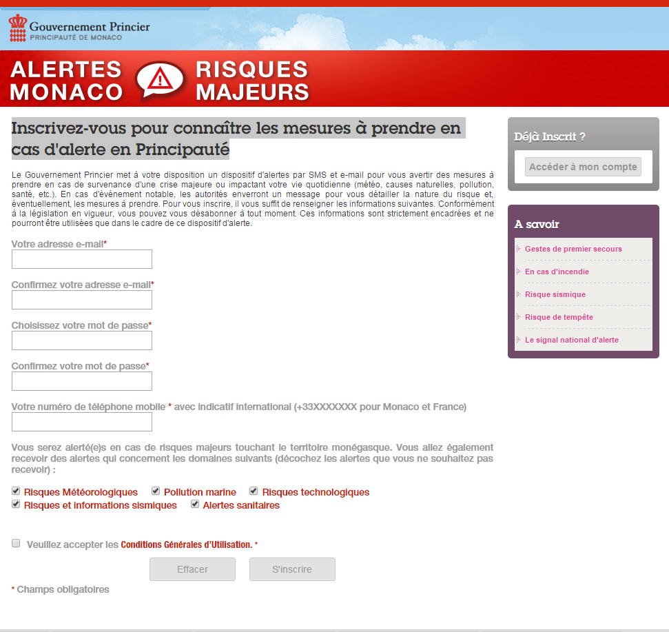 Formulaire de contacts par sms depuis votre site internet - Formulaire de contact ...
