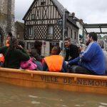 inondation seine et marne Nemours